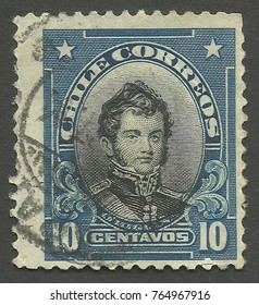 Similar Images Stock Photos Vectors Of Chile Circa 1911 Stamp