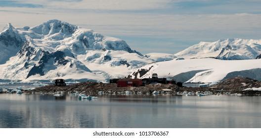 Chilean Antarctic base Gonzales Videla, Waterboat Point, Antarctic Peninsula