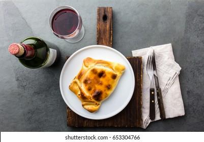 Chilean empanada de pino