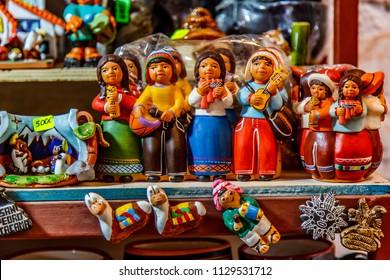 Chilean Souvenirs in San Pedro de Atacama market