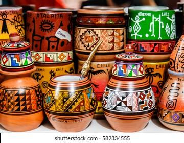 Chilean Souvenirs in San Pedro de Atacama markes