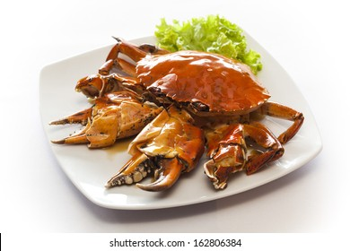 Chili fried crab with black pepper