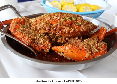 chili garlic fried crab filipino style