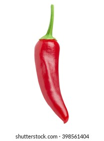 chili pepper isolated Clipping Path