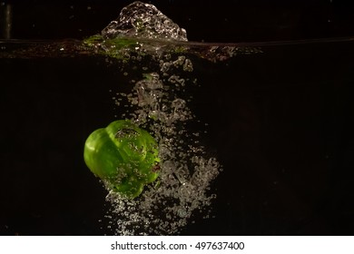 chilli drop in the water