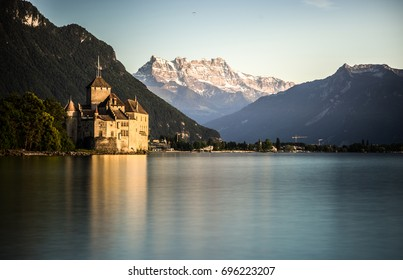 Chillon Castel, Montreux, Switzerland
