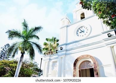 "Chilpancingo, Guerrero / Mexico - February 7, 2017 : ""San Francisco"" Church"