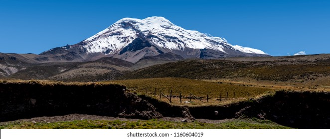 """The Chimborazo is the highest volcano in Ecuador and the furthest point from the center of the Earth, it is also the closest point to space, """"the closest point to the Sun"""""""