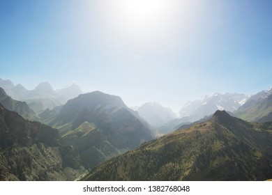 Chimgan mountains near Tashkent city, Uzbekistan