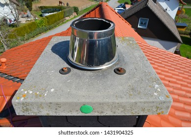 Chimney Cover Plate with approval Seal with High Grade Steel Fume Hood