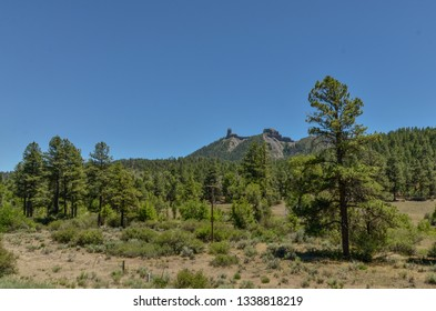 Chimney Rock National Monument in Southern Ute Reservation (Archuleta county, Colorado)