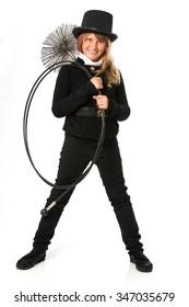 chimney sweeper kid