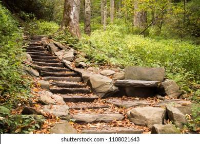 Chimney Tops Trail - Great Smoky Mountains - North Carolina Mountains