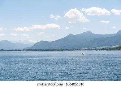 Chimsee lake in summer