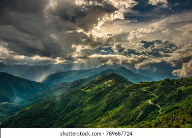 Chin State mountains