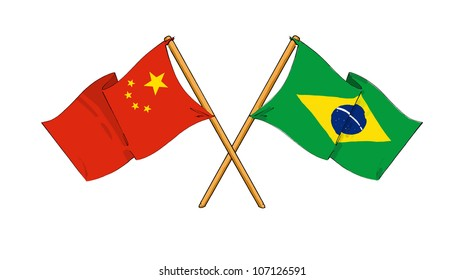 China and Brazil alliance and friendship