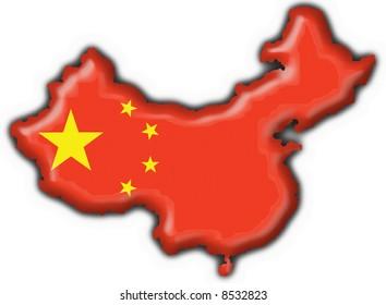 China button flag map shape