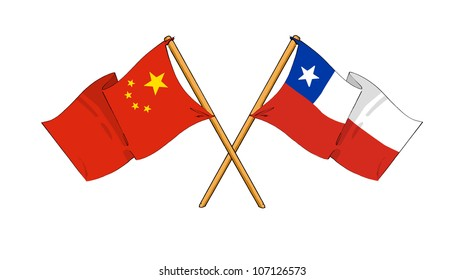 China and Chile alliance and friendship