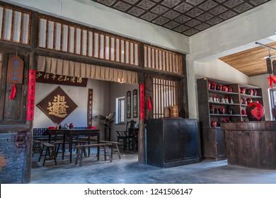China, Dalian - November 27, 2018 Dalian Shaoguan East Film City