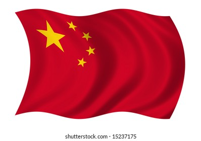 China Flag (more flags in my portfolio)