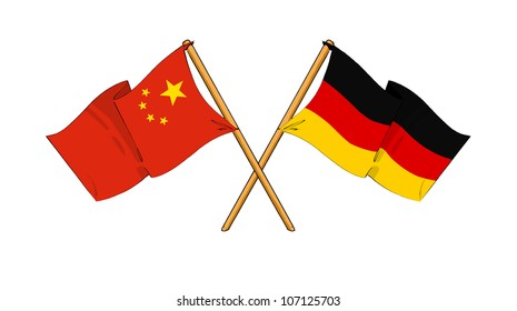 China and Germany alliance and friendship