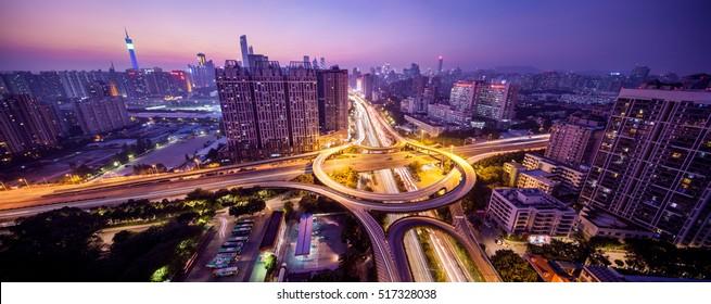 china guangzhou at night