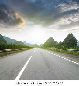 China Guilin Road