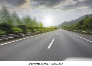 China high speed highway
