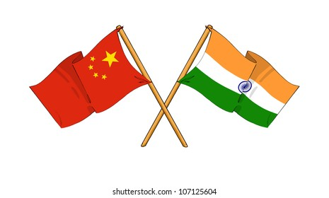 China and India alliance and friendship