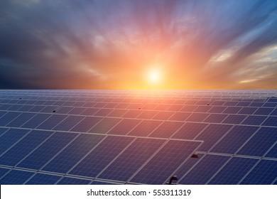China Jiangsu, a large number of water solar panels