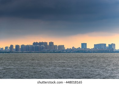China Jiangsu province Suzhou Jinji Lake scenery