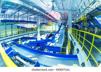 In China, große Logistik-Sortierzentrum-Inneneinrichtung