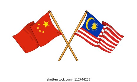 China and Malaysia alliance and friendship
