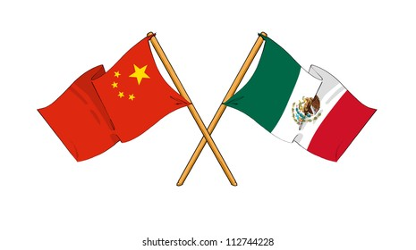 China and Mexico alliance and friendship