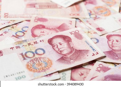 china money 100 bank note background