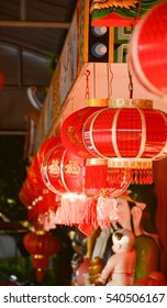 In China mostly Chinese people decorate lantern in front of house.