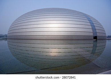China National Grand Theatre (National Centre for the Performing Arts) or the Egg, Beijing, China