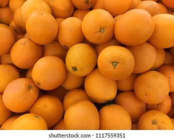China navel orange or valencia orange