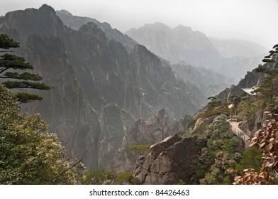 China, province Anhui, mountains Huangshan, 2011