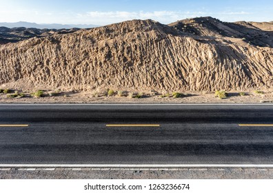 China Qinghai Desert Gobi Highway