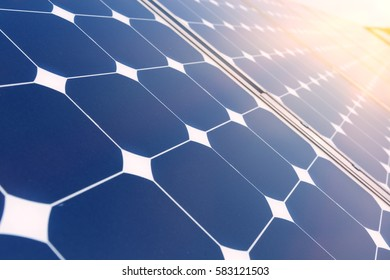 China Shanghai, solar power plants, photovoltaic panels arranged in a variety of scenes