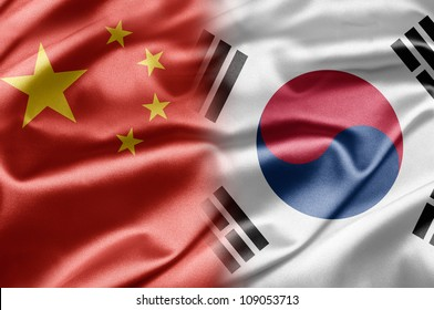 China and South Korea