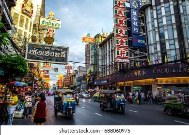 China town, Bangkok, Thailand, Thursday 27 July 2017