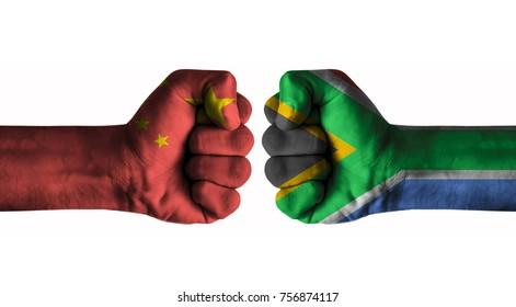 China vs Afrique du Sud