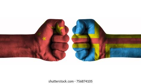 China vs Aland islands