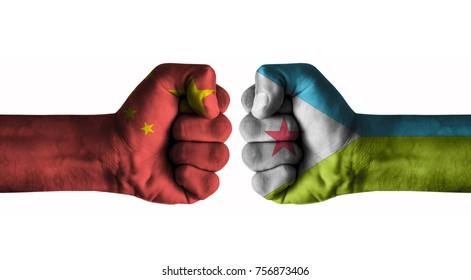China vs Djibouti
