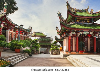 China, Xiamen Nanputuo temple during sunny day, without people.