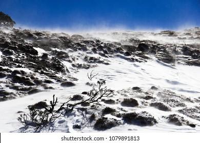 China YunNan Kunming Jiaozi Snow Mountain Photographed in February 2018