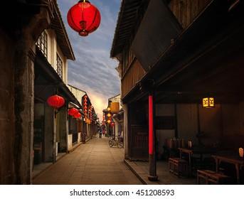 China, Zhouzhuang, 2011