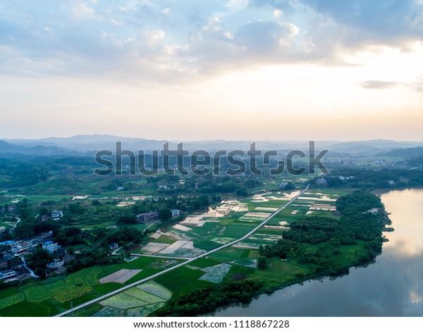 China's rural natural scenery